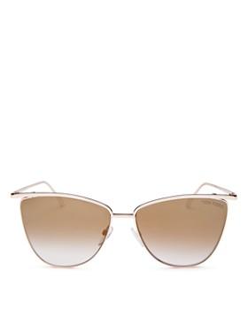 Tom Ford - Women's Veronica Cat Eye Sunglasses, 58mm