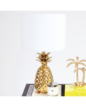 8 Oak Lane - Pineapple Side Table Lamp