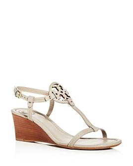 Tory Burch - Women's Miller T-Strap Wedge Sandals