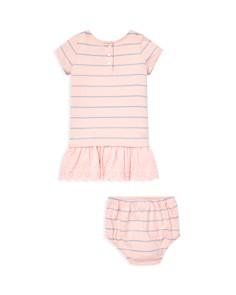 Ralph Lauren - Girls' Striped T-Shirt Dress & Bloomers Set - Baby