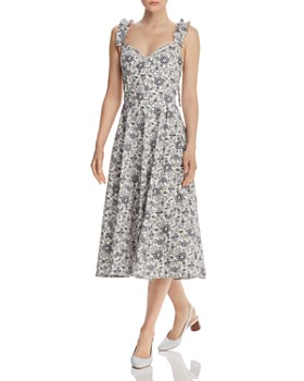 Rebecca Taylor - Provencal Floral Midi Dress