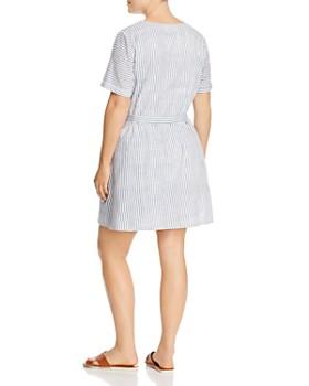 7419d9af3cf ... JUNAROSE Plus - Alexandra Mixed-Stripe Print Dress