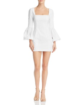 Fame and Partners - Bell-Sleeve Mini Dress