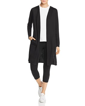702fa46726bd5b Marc New York - Hooded Open Duster Cardigan ...