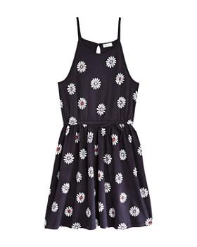 Splendid - Girls' Daisy Print Fit-and-Flare Dress - Big Kid