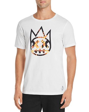 Cult of Individuality - Flame Flocked Tee