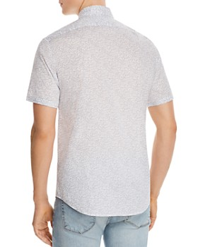 Michael Kors - Stretch Short-Sleeve Slim Fit Shirt - 100% Exclusive