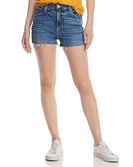 PAIGE - Margot High-Rise Denim Shorts in Westshore