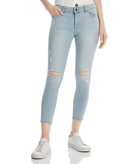 DL1961 - Florence Instasculpt Cropped Jeans in Fairfax