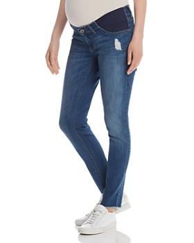 DL1961 - Emma Maternity Power Jeans in Strobe