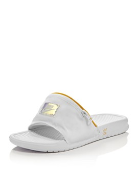 Nike - Women's Benassi Fanny Pack Slide Sandals