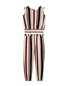 Vintage Havana - Girls' Striped Tank & Joggers - Big Kid