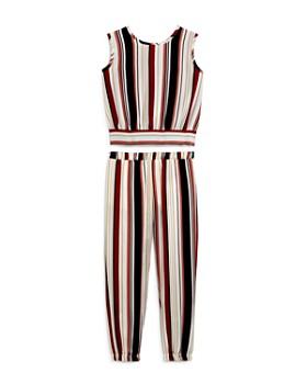 Vintage Havana - Girls' Striped Tank & Joggers - Big Kid