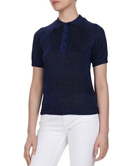 ba&sh - Lima Metallic Polo Sweater