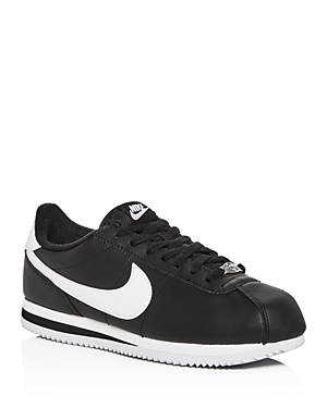 Nike Men's Cortez Leather Low-Top Sneakers