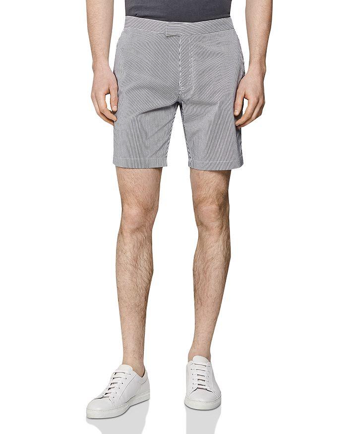 REISS - Jester Seersucker Shorts