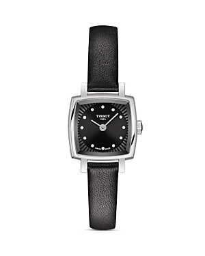 Tissot Lovely Square Diamond Watch, 20mm x 20mm-Jewelry & Accessories