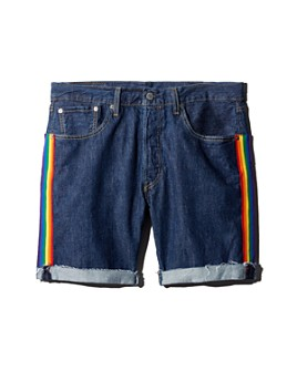 Levi's - 501 Taper Regular Fit Denim Cutoff Shorts