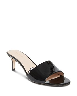 kate spade new york - Women's Savvi Kitten Heel Slide Sandals