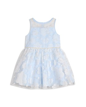 Pippa & Julie - Girls' Burnout Clouds Fit-and-Flare Dress - Little Kid