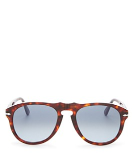 Persol - Men's Round Sunglasses, 54mm