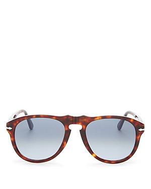 Persol Men\\\'s Round Sunglasses, 54mm
