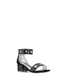 Nina - Girls' Kellsey Embellished Ankle-Strap Sandals - Little Kid, Big Kid