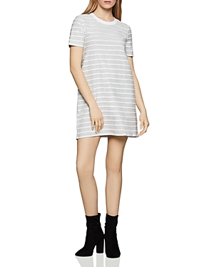 Bcbgeneration Scalloped-Trim T-Shirt Dress