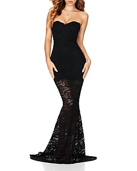 Nookie - Romance Strapless Lace Gown