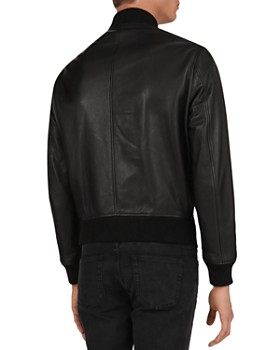 The Kooples - California Leather Bomber Jacket