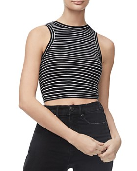1807aad8 Sleeveless Women's Tops: Graphic Tees, T-Shirts & More - Bloomingdale's