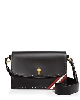 Bally - Celestine Medium Leather Shoulder Bag