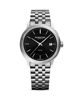 Raymond Weil - Maestro Stainless Steel Link Bracelet Automatic Watch, 39.5mm