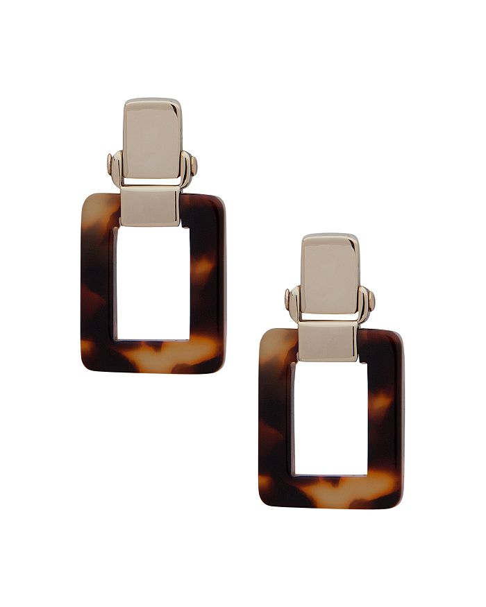 Ralph Lauren - Tortoise Link Drop Earrings
