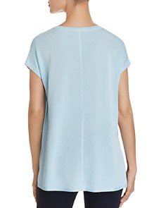 Donna Karan - Lightweight Short-Sleeve Sweater