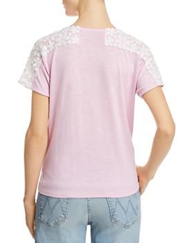 Design History - Lace-Trim Tie-Front Top