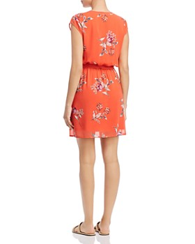 Daniel Rainn - Floral-Print Flutter Dress