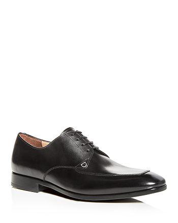 Salvatore Ferragamo - Men's Tristano Leather Apron-Toe Oxfords - 100% Exclusive