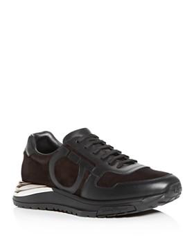 821da67b711 Salvatore Ferragamo - Men s Brooklyn Willy Suede Low-Top Sneakers ...