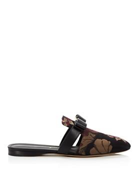 Salvatore Ferragamo - Women's Brizavit Leather Mules