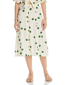 Faithfull the Brand - Marin Polka Dot Skirt