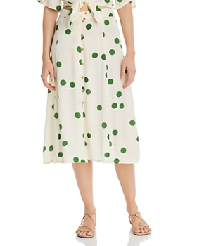 Faithfull the Brand - Marin Polka Dot Skirt