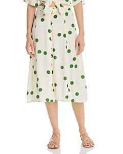 cea82fadda Faithfull the Brand Joy Floral Midi Skirt | Bloomingdale's