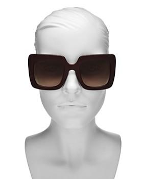 4a6d06bd3 ... 53mm Gucci - Women's Square Sunglasses, ...