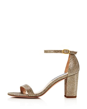 ff4121acd32 Stuart Weitzman - Women s Nearly Nude Block Heel Sandals ...