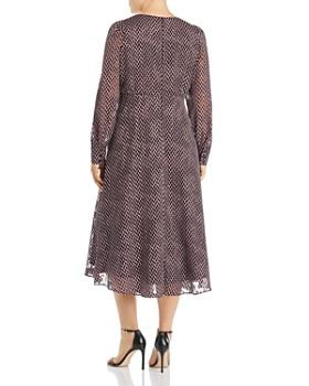 9b3a0071d ... Marina Rinaldi - Duse Devoré V-Neck Dress