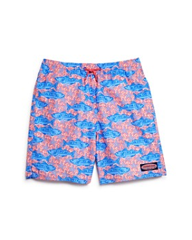 Vineyard Vines - Boys' Tuna & Starfish Chappy Swim Trunks - Little Kid, Big Kid