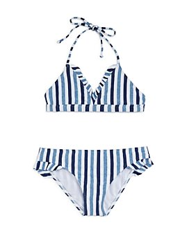 Splendid - Girls' Striped 2-Piece Swimsuit - Big Kid