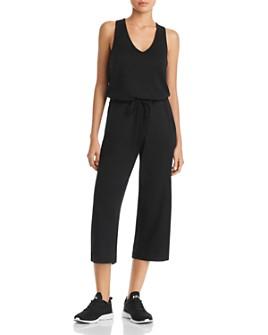 Beyond Yoga - Farrah Crisscross Cropped Jumpsuit