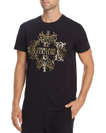 Versace Jeans Couture - Metallic Logo Graphic Tee